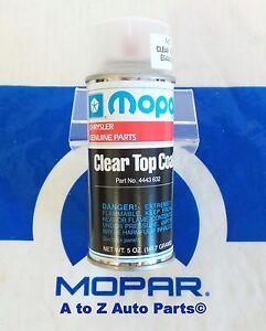 ram challenger charger wrangler etc clear coat spray paint oem mopar. Black Bedroom Furniture Sets. Home Design Ideas