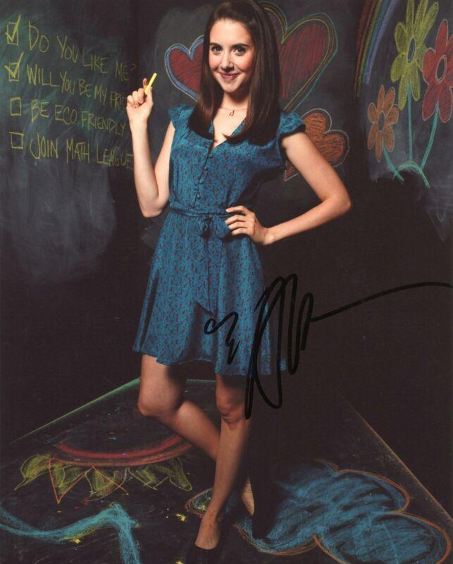 "Alison Brie ""Community"" AUTOGRAPH Signed 8x10 Photo B ACOA"