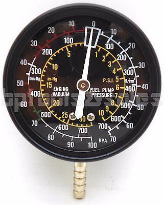 Fuel Pump & Vacuum Tester Accurate Engine Carburetor Valve Gauge Plug Tester Kit