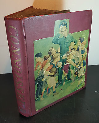 VINTAGE MID CENTURY 50'S 60'S CUTTINGS SCRAPBOOK FILLED