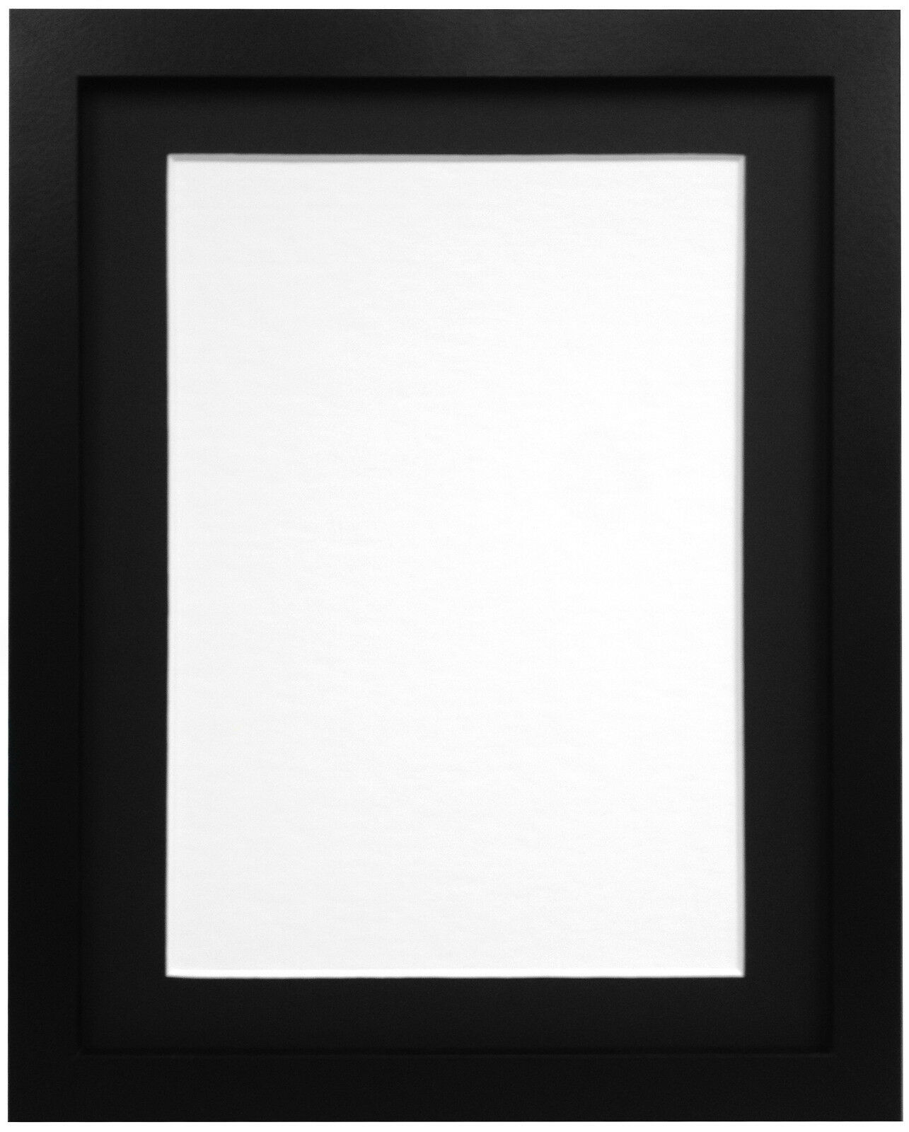black or white rio photo picture frames with quality black white or ivory mounts ebay. Black Bedroom Furniture Sets. Home Design Ideas