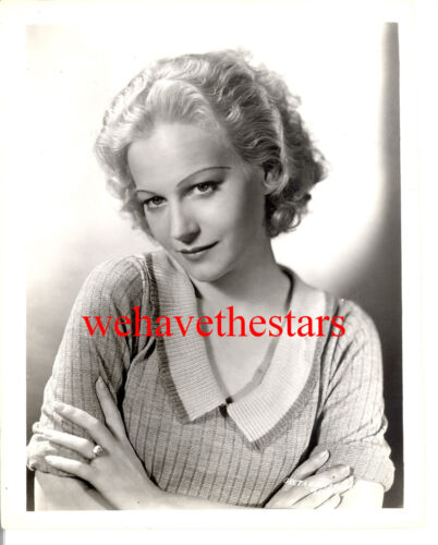Vintage Greta Granstedt GORGEOUS BEAUTY 30s Publicity Portrait