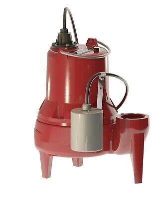 Liberty Pumps Le51a 12 Hp Submersible Sewage Pump