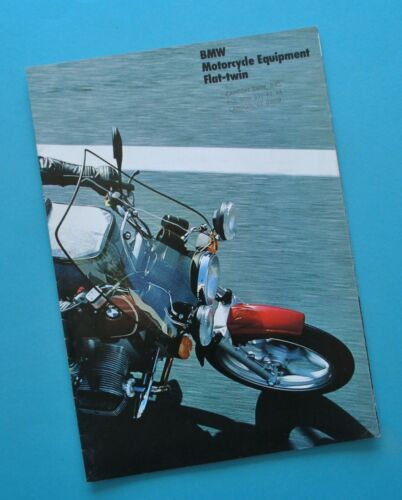 1985 BMW Motorcycle Accessory Catalog Brochure R60 R75 R80RT R100RT R100RS
