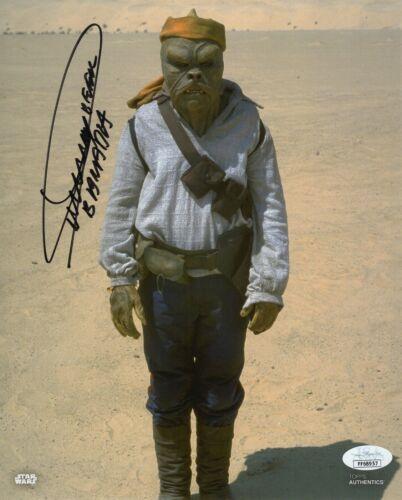 "Dickey Beer Autograph Signed 8x10 Photo - Star Wars ""Barada"" (JSA COA)"