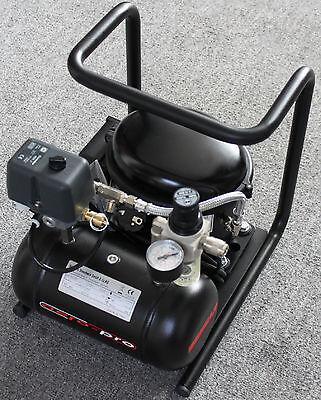 Hansa aero-pro HTC 25a  Ölgelagerter Airbrush Kompressor