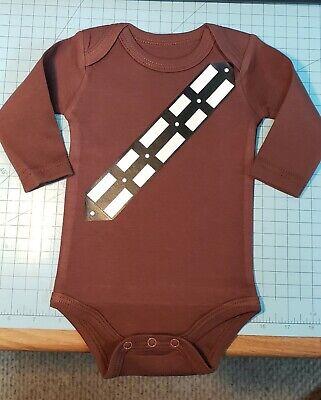 Star Wars Chewbacca Bandolier Gerber Baby Onesie - Chewbacca Onesie