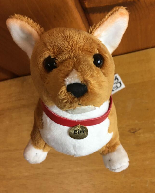 """Cowboy Bebop EIN Plush Corgi Dog Stuffed Animal 9"""" Sunrise Productions"""