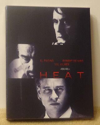Heat Blu Ray Steelbook Filmarena Fac Exclusive  2 Ultra Rare Grail Brand New
