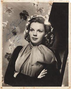 JUDY GARLAND Signed Photograph - Film Star Actress - preprint