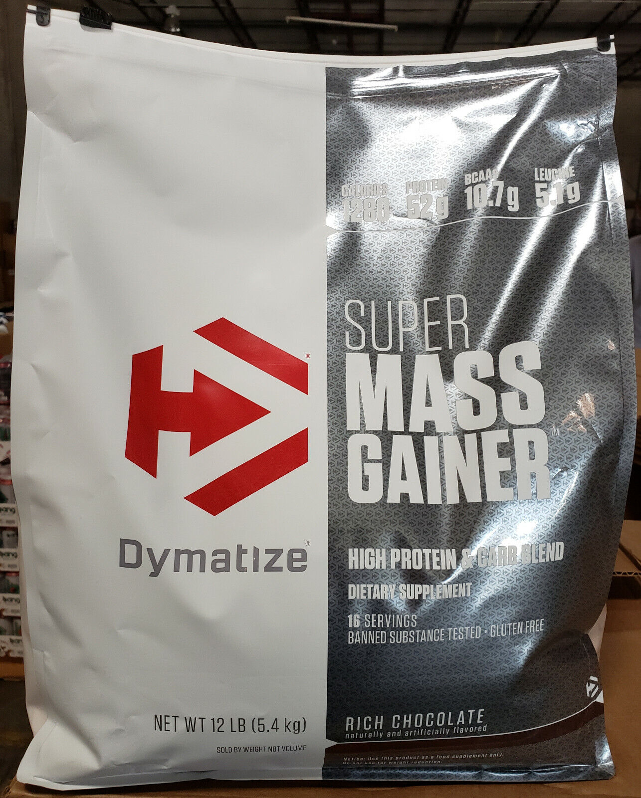 DYMATIZE SUPER MASS GAINER 12LB MUSCLE MASS - PICK FLAVOR -