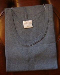 tricot de peau couleur sous vetement homme sans manches 100 coton peigne ebay. Black Bedroom Furniture Sets. Home Design Ideas