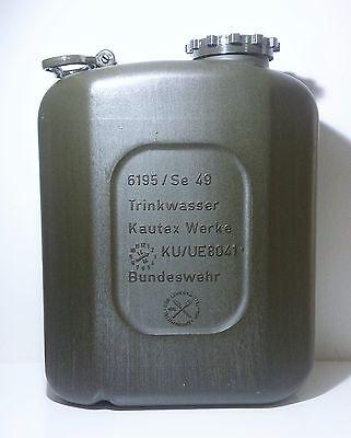 Bundeswehr Wasserkanister 20 L, Kautex Kanister, Pferde, Outdoor, Bw, 917 4x4
