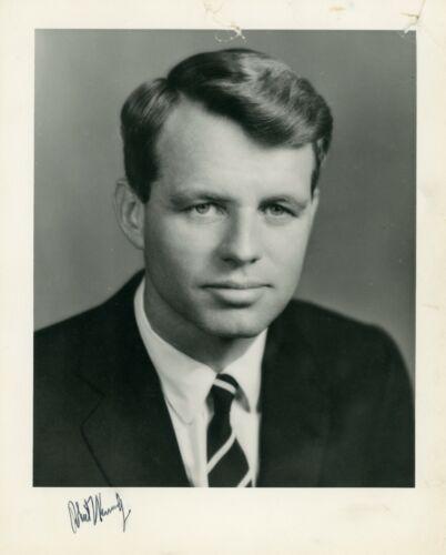 Robert F. Kennedy RFK Autograph Signed Photo BAS BECKETT LOA