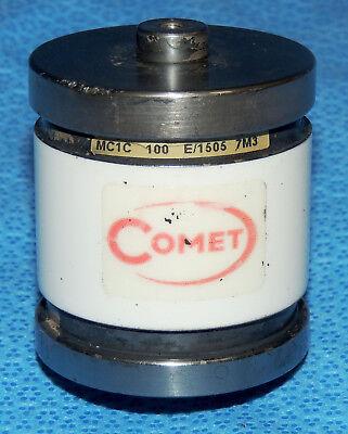 Comet 100 Pf 15 Kv Ceramic Vacuum Capacitor Mini-cap Mc1c 100 E1505 7m3