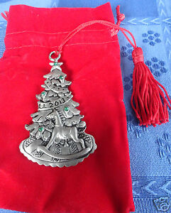 Avon 2013 Christmas Tree Pewter Ornament | eBay