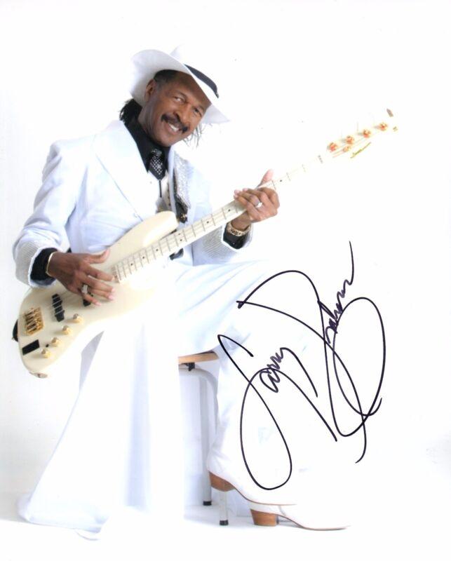 GFA Sly & the Family Stone * LARRY GRAHAM * Signed 8x10 Photo PROOF AD2 COA