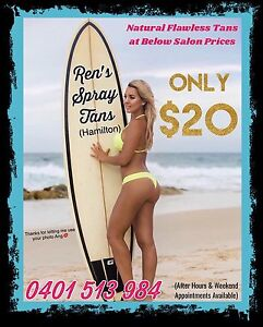 $20 Spray Tans - After Hours & Weekends-  Hamilton (Brisbane) Hamilton Brisbane North East Preview