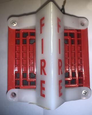 Vintage Gamewell 69240h 69240s B4 Fire Alarm Horn Strobe 18 - 31.2 V Dc