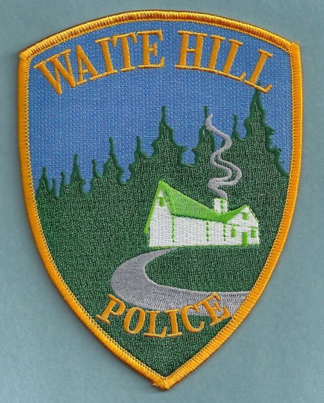 WAITE HILL OHIO POLICE SHOULDER PATCH