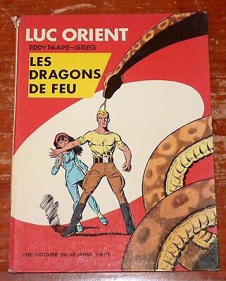 Luc Orient : Les dragons de feu 1969