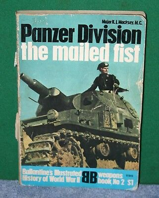 Vintage Book - Ballantine's Illustrated History of WWII - Panzer Division