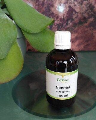 100ml Niemöl Neemöl - 100% naturrein kaltgepresst Hautpflege Öl Shampoo LaVita