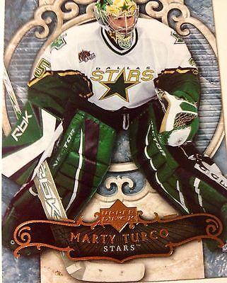 2007/08 Marty Turco  Dallas Stars #71 Upper Deck NHL Hockey Card  Texas Michigan