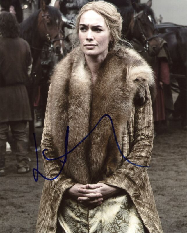"Lena Headey ""Game of Thrones"" AUTOGRAPH Signed 'Cersei' 8x10 Photo C"