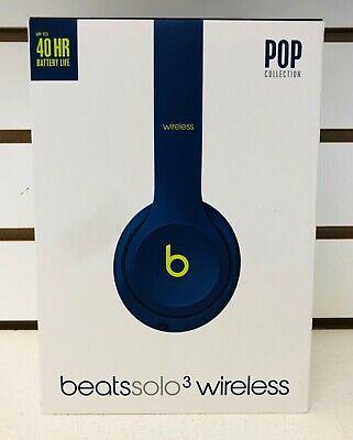 Beats Solo3Wireless On-Ear Headphones-Beats Pop Collection Pop IndigoMRRF2LL/A
