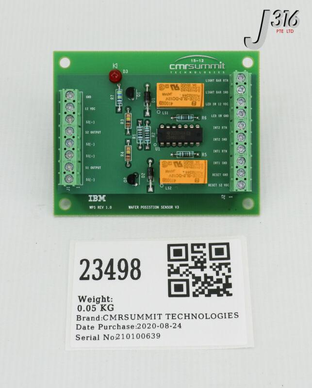 23498 Cmrsummit Technologies Pcb, Wafer Posistion Snsr V3 Sti-14-007-l01636