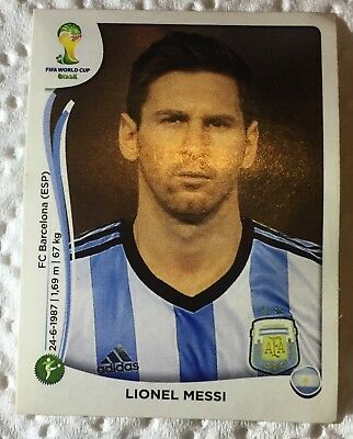 Fifa World Cup Brasil stickers/stamp 2014 these players are the best.