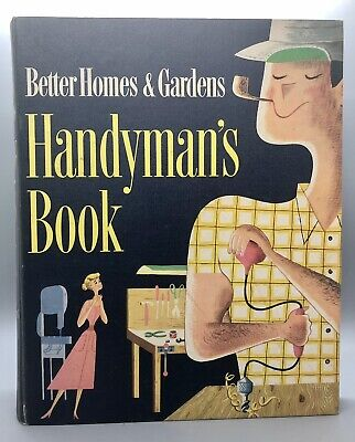 Better Homes and Gardens Handyman's Guide Book 1957