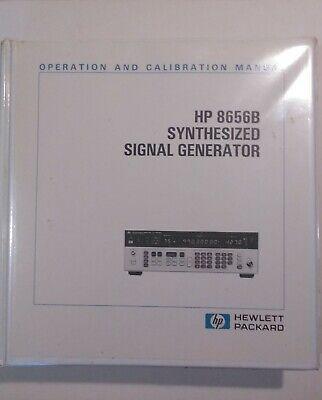 Hp 8656b Signal Generator Operation And Calibration Manual 08656-90227 1987