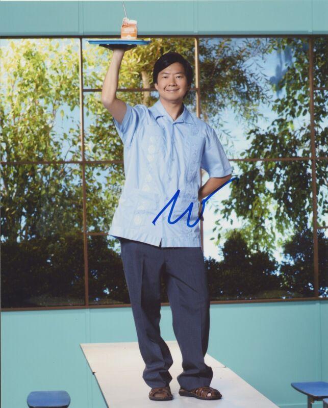 KEN JEONG SIGNED COMMUNITY 8X10 PHOTO