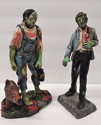 Dead Zombie Walking, Hand Painted Urban Zombie Statue  8