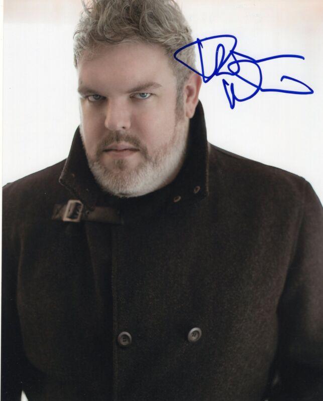 Kristian Nairn Game of Thrones Hodor Signed 8x10 Photo w/COA #4