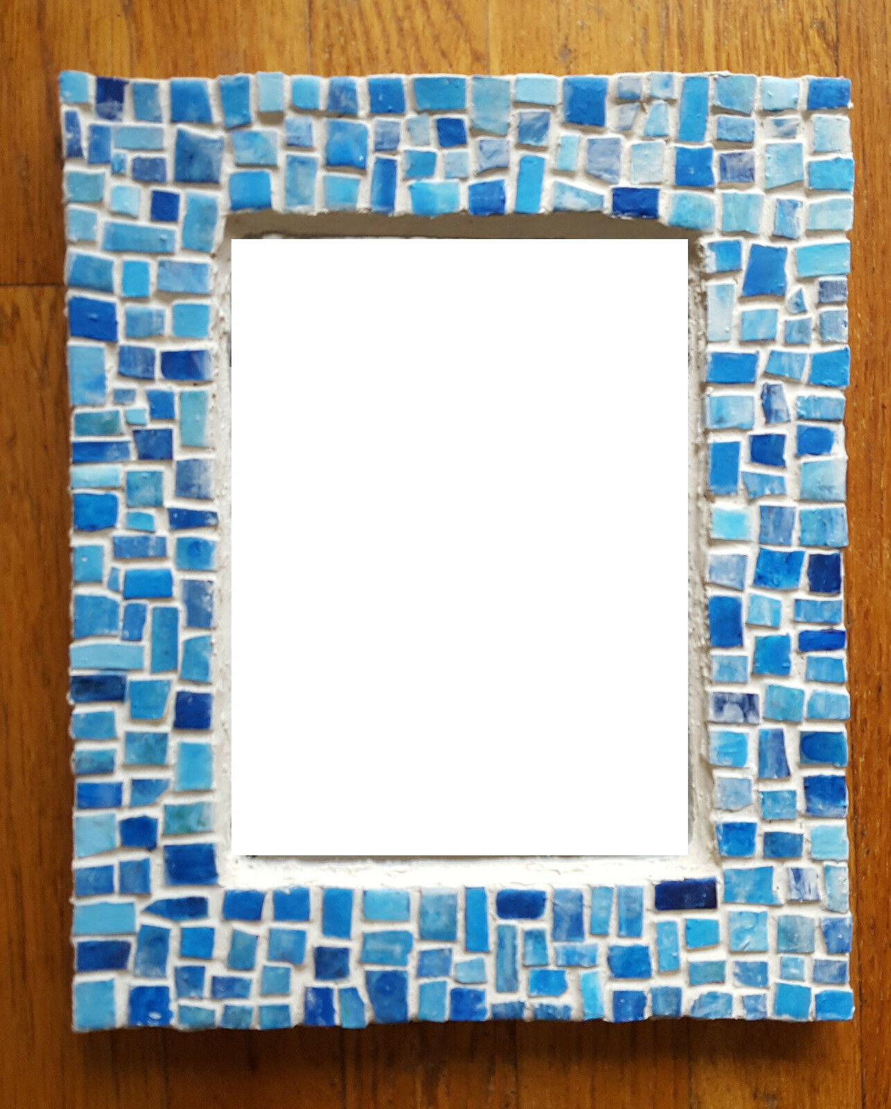 Bathroom Mosaic Mirror - Hand Made - 11 1/2 x 9 1/2