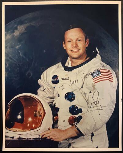 1969 Original Autographed NASA Photo Astronaut Hero Neil Armstrong Signed LOA
