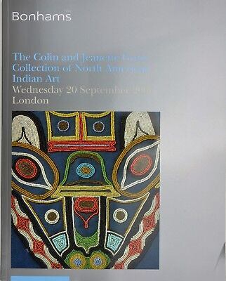 CATALOGUE. THE COLIN & JEANETTE GROSS COLLECTION OF AMERICAN INDIAN ART. cat189