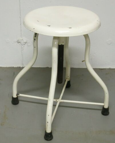 Vintage Medical Stool by Seng