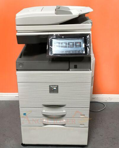 Sharp Mx 4070n Mfp Color Laser Copier Printer Scanner Sra3
