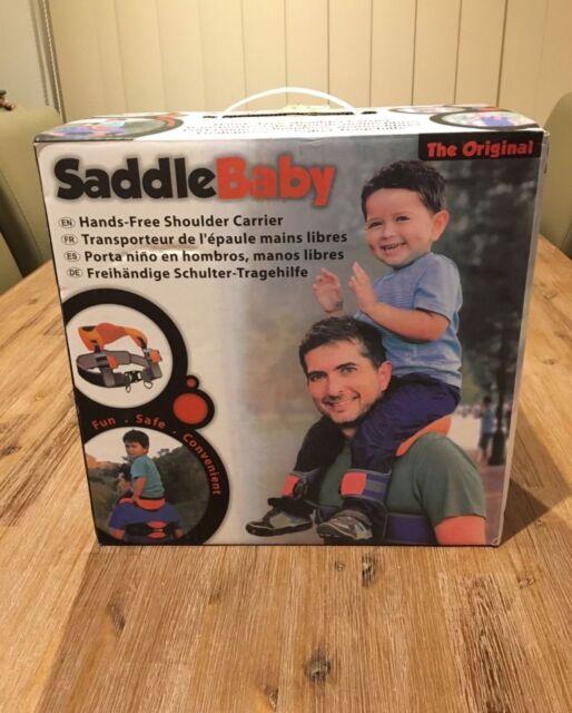 2bef154364c SADDLE BABY (Hands Free Baby  47 Toddler Shoulder Carrier)