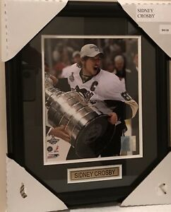 Sidney Crosby Pittsburgh Penguins Photo Framed