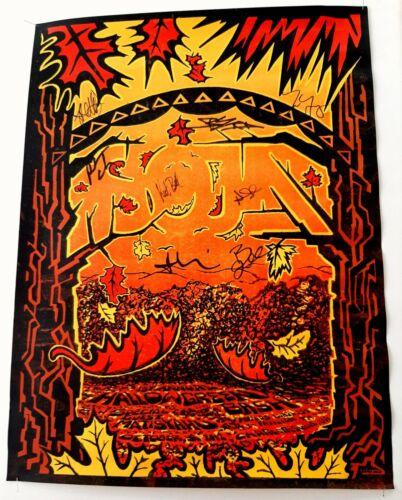 Soja - Halloween Charlottesville, VA Show Poster 2012 Clingman Signed