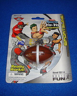 Duncan Sports Yo-Yo Football Keychain by Basic Fun MOC