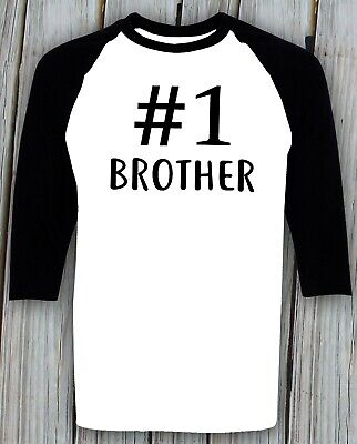 #1 Brother T-shirt Uncle Dad Birthday Christmas Gift Cousin Best