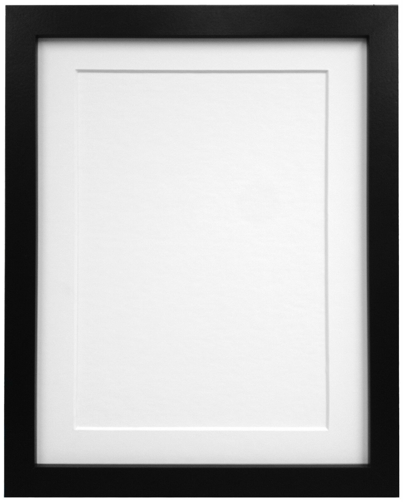 Black Or White Rio Photo Picture Frames With Quality Ivory Mounts