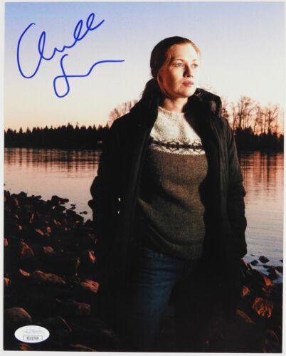 Mireille Enos The Killing Autograph Signed 8 x 10 JSA COA
