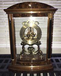 Bulova Quartz Clock Desk Pendulum